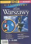 Warszawa 1:26 000 kieszonkowy atlas miasta w sklepie internetowym Booknet.net.pl