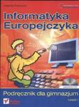 Informatyka Europejczyka. Gimnazjum, część 1. Podręcznik (+CD) w sklepie internetowym Booknet.net.pl