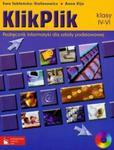 KlikPlik 4-6 Podręcznik informatyki z płytą CD w sklepie internetowym Booknet.net.pl