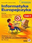 Informatyka Europejczyka zeszyt ćwiczeń część 2 w sklepie internetowym Booknet.net.pl