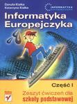 Informatyka Europejczyka Część 1 Zeszyt ćwiczeń dla szkoły podstawowej w sklepie internetowym Booknet.net.pl