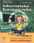 Informatyka Europejczyka. Klasy 4-6, szkoła podstawowa, część 2. Zeszyt ćwiczeń w sklepie internetowym Booknet.net.pl