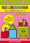 Mój dom Kolorowanka w sklepie internetowym Booknet.net.pl