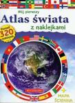 Mój pierwszy atlas świata z naklejkami z mapą ścienną w sklepie internetowym Booknet.net.pl