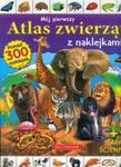 Mój pierwszy atlas zwierząt z naklejkami z mapą ścienną w sklepie internetowym Booknet.net.pl