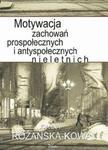 Motywacja zachowań prospołecznych i antyspołecznych nieletnich w sklepie internetowym Booknet.net.pl