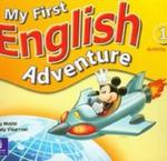 My First English Adventure 1 Activity Book w sklepie internetowym Booknet.net.pl