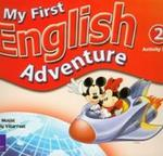 My First English Adventure 2 Activity Book w sklepie internetowym Booknet.net.pl