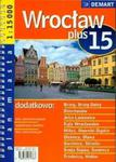 Wrocław plus 15 - plan miasta w sklepie internetowym Booknet.net.pl