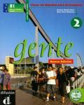 Gente 2 podręcznik z płytą CD w sklepie internetowym Booknet.net.pl