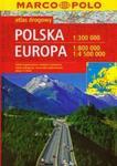 Polska atlas drogowy 1:300 000 Europa 1:800 000 w sklepie internetowym Booknet.net.pl