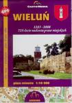 WIELUŃ PLAN MIASTA 1:10 000 CARTOMEDIA 9788388467813 w sklepie internetowym Booknet.net.pl