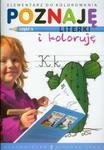 Poznaję literki i koloruję. Część 3 w sklepie internetowym Booknet.net.pl