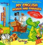 My English Words and Phrases My First English Words Pakiet 2 CD w sklepie internetowym Booknet.net.pl