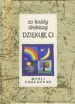 Za każdy drobiazg dziękuję Ci. Myśli pozłacane w sklepie internetowym Booknet.net.pl