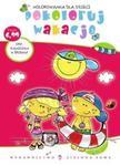 Pokoloruj wakacje - Kolorowanka dla dzieci w sklepie internetowym Booknet.net.pl