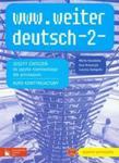 www.weiter deutsch 2 Zeszyt ćwiczeń z płytą CD-ROM w sklepie internetowym Booknet.net.pl