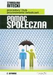 Pomoc społeczna Procedury i tryb przyznawania świadczeń w sklepie internetowym Booknet.net.pl