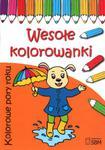 Wesołe kolorowanki. Kolorowe pory roku w sklepie internetowym Booknet.net.pl