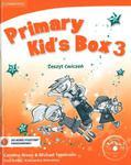 Primary Kid's Box 3 Zeszyt ćwiczeń z płytą CD w sklepie internetowym Booknet.net.pl