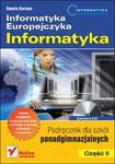 Informatyka Europejczyka Informatyka Część 2 Podręcznik z płytą CD w sklepie internetowym Booknet.net.pl