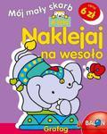 Naklejaj na wesoło 4 lata Mój mały skarb w sklepie internetowym Booknet.net.pl