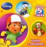 Disney Zabawy 5 latka Książka z naklejkami w sklepie internetowym Booknet.net.pl