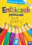 Entliczek Pentliczek 2 kolorowanka 3-latka w sklepie internetowym Booknet.net.pl