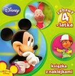 Disney Zabawy 4 latka Książka z naklejkami w sklepie internetowym Booknet.net.pl