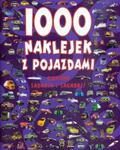 1000 naklejek z pojazdami w sklepie internetowym Booknet.net.pl