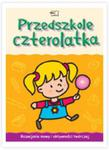 Przedszkole czterolatka. Karty pracy, cz. 2, Rozwijanie mowy i aktywności twórczej. w sklepie internetowym Booknet.net.pl