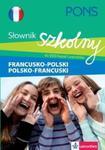 PONS Szkolny słownik francusko-polski polsko-francuski w sklepie internetowym Booknet.net.pl