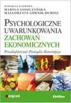 Psychologiczne uwarunkowania zachowań ekonomicznych w sklepie internetowym Booknet.net.pl