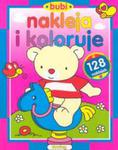Bubi nakleja i koloruje w sklepie internetowym Booknet.net.pl