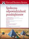 Harvard Business Review. Społeczna odpowiedzialność przedsiębiorstw w sklepie internetowym Booknet.net.pl