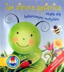 Jak zielona gąsienica stała się kolorowym motylem. Książka z niespodzianką w sklepie internetowym Booknet.net.pl