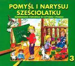 Pomyśl i narysuj sześciolatku 3 w sklepie internetowym Booknet.net.pl