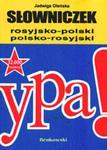 Słowniczek rosyjsko-polski, polsko-rosyjski w sklepie internetowym Booknet.net.pl