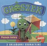 Groszek poznaje kolory. 3 układanki edukacyjne w sklepie internetowym Booknet.net.pl