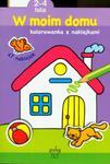 W moim domu - kolorowanka z naklejkami w sklepie internetowym Booknet.net.pl