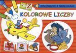 Zabawa i nauka. Kolorowe liczby. Malowanki z naklejkami w sklepie internetowym Booknet.net.pl