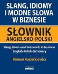 Slang idiomy i modne słowa w biznesie w sklepie internetowym Booknet.net.pl