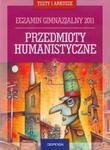 Egzamin gimnazjalny 2011 Przedmioty humanistyczne + CD w sklepie internetowym Booknet.net.pl