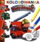 Mały chłopiec. Kolorowanka. Wóz strażacki w sklepie internetowym Booknet.net.pl
