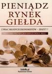 Pieniądz Rynek Giełda w sklepie internetowym Booknet.net.pl