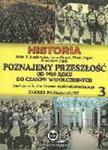 HISTORIA Poznajemy przeszłość Klasa 3 Liceum Podręcznik ZR w sklepie internetowym Booknet.net.pl