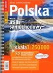 Polska. Atlas samochodowy 1:250 000 w sklepie internetowym Booknet.net.pl