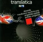 Translatica. Słownik naukowo-techniczny angielsko-polski, polsko-angielski. Płyta CD w sklepie internetowym Booknet.net.pl