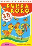 Kurka Koko. Zabawy dla maluchów. 35 naklejek w sklepie internetowym Booknet.net.pl