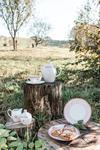 Serwis do kawy i herbaty z delikatnym motywem Porcelana Krzysztof w sklepie internetowym Uroda stolu